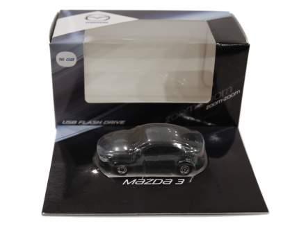 Флешка в форме Mazda 3 USB Flash Drive, 16Gb, Grey-Blue, 830077727