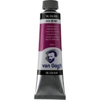 Краска масляная Van Gogh туба 40мл №567 Красно-фиолетовый устойчивый