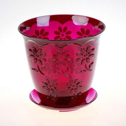 Горшок Соблазн для орхидеи 1,5л фиолетовый М1917
