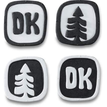 Наклейка на сноуборд Dakine Dots Stomp, black/white