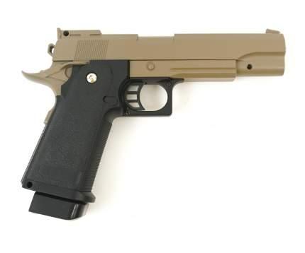 Страйкбольный пружинный пистолет Galaxy  Китай (кал. 6 мм) G.6D (песочный)