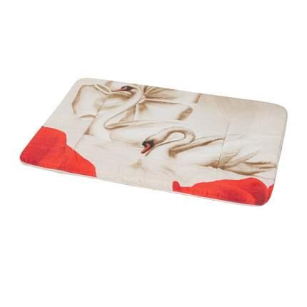 Лежак в переноску для собак и кошек Xody Эконом №2, цвета в ассортименте, 48х27х2 см