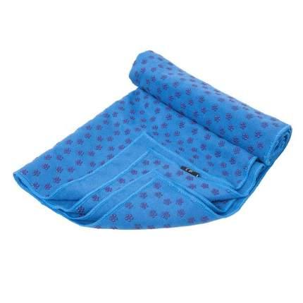 Коврик-полотенце для йоги Body Form BF-YT09 173*61 (синий)