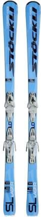 Горные лыжи Stockli Laser SL + MC 11 2019, white, 150 см