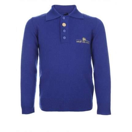 Джемпер Small Silk Shirt, цв. синий, 110 р-р