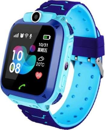 Детские смарт-часы NoBrand Smart Baby Watch Q12 Blue/Blue