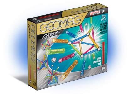 Магнитный конструктор GEOMAG 531 Glitter 30 деталей