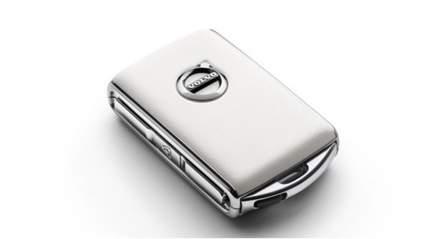 Брелок для ключа с дистанционным управлением Volvo 31659818 белая кожа