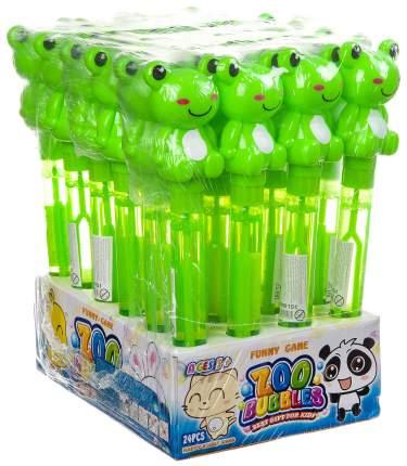 Набор мыльных пузырей, лягушки-погремуш. D/B 24 шт. по 60 мл, ВОХ 24х7,8х17 см, арт.2816.