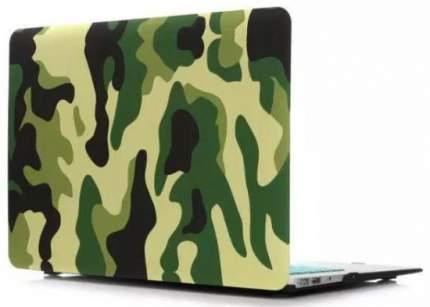 Чехол-накладка i-Blason Transparent Hard Shell Case для MacBook Air 13 (Khaki/Green)