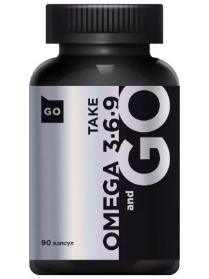 Take and Go Omega 3-6-9 90cap (90 капс)