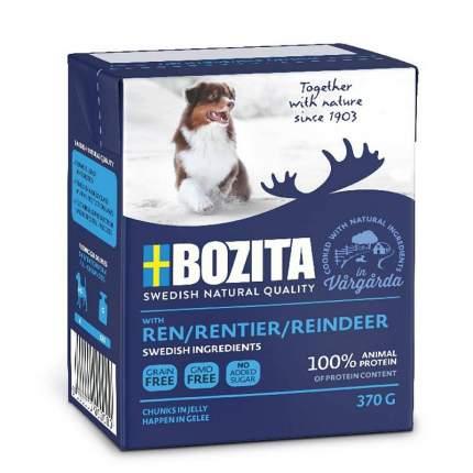 Влажный корм для собак BOZITA Naturals, оленина, 370г