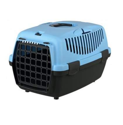 Бокс транспортный для животных TRIXIE Capri 1, серый/голубой, XS, 32x31x48 cм