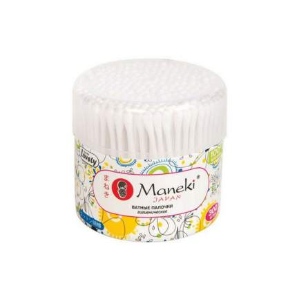 Палочки ватные косметические Maneki cotton buds 100 шт