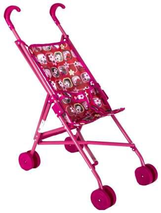 """Коляска-трость для кукол """"Melobo"""", цвет: красный + розовый, принт бабочки"""