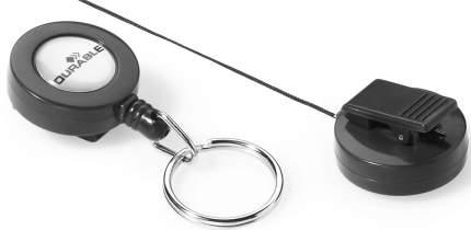 Рулеточный крепеж для бейджа с карабином 10 шт. 822158