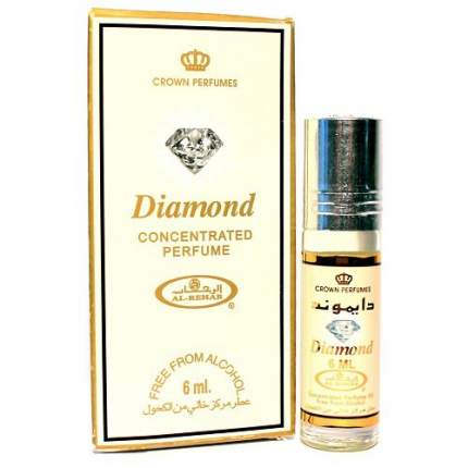 Масло парфюмерное Al Rehab Daimond, 6 мл