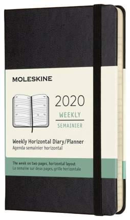Еженедельник MOLESKINE Classic WKLY Pocket DHB12WH2 Черный