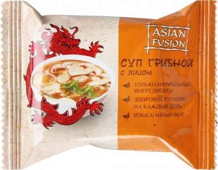 Суп грибной Asian Fusion с яйцом  12 г