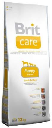 Сухой корм для щенков Brit Care Puppy All Breed, все породы, ягненок, рис, 12кг