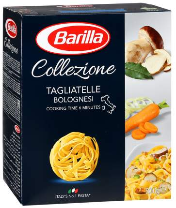 Макароны Barilla tagliatelle bolognesi тальятелле 500 г