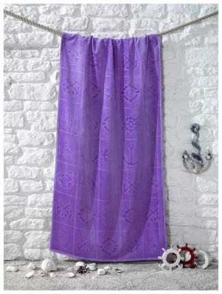 Пляжное полотенце KARNA фиолетовый