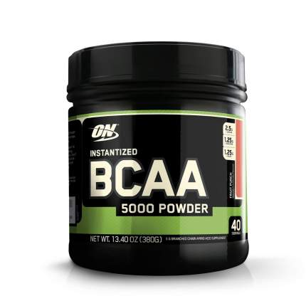 Optimum Nutrition BCAA 5000 380 г фруктовый пунш