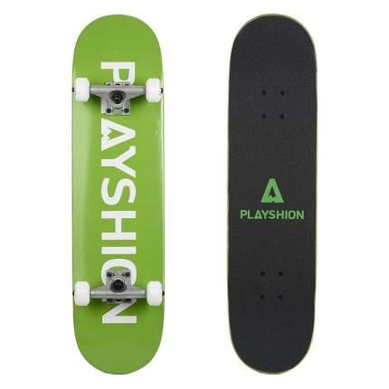 Скейтборд Playshion Gun 80,8 x 20 см зеленый