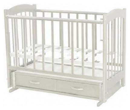 Кровать детская Ведрусс Радуга 4 поперечный маятник, Белый