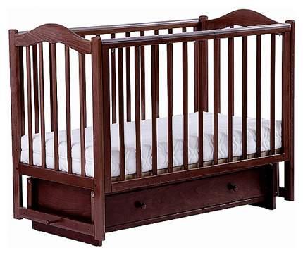 Детская кровать Лель Кубаночка-1 БИ 37 Темный орех