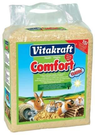 Опилки Vitakraft Comfort Classic для грызунов, 15 л