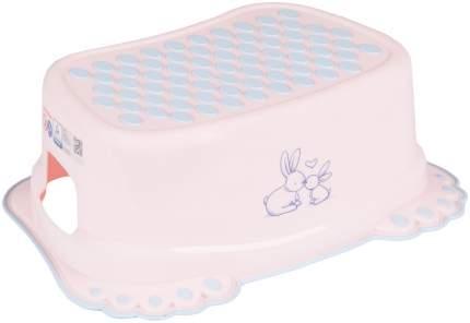 Подставка Тега для ванны кролики антискольз розовый