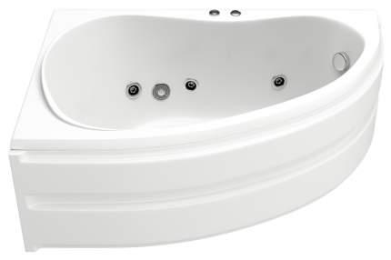 Акриловая ванна BAS Алегра 150х90 c гидромассажем левая