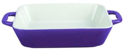 Форма керамическая ТМ Appetite прямоугольная 31,5x20x5см с ручками, Фиолетовый