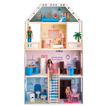 Кукольный домик Paremo поместье риверсайд с мебелью