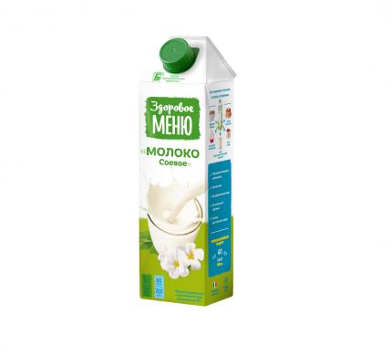 Молоко соевое Здоровое Меню 1 л