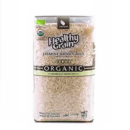 Рис органический Sawat-D тайский коричневый жасмин 1 кг