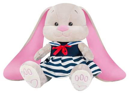 Мягкая игрушка Jack&Lin Зайка морячка в синем платье с воротником 25 см JL-036-25-KCO