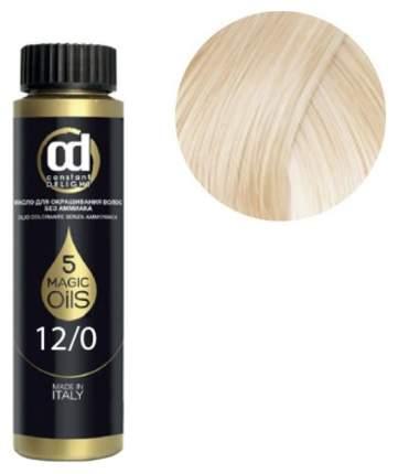 12,0 Cd масло для окрашивания волос, специальный блондин натуральный olio colorante
