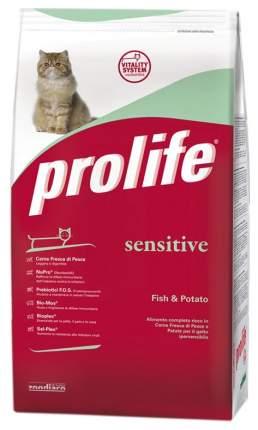 Сухой корм для кошек Prolife Sensitive, для гиперчувствительных, рыба и картофель, 0,4кг