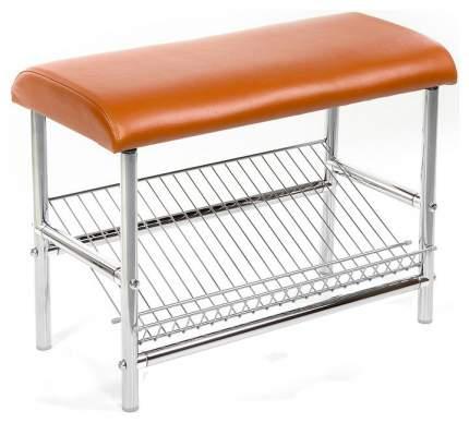 Банкетка-стеллаж для обуви Бител МС-4 Оранжевый
