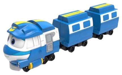 Паровозик Robot Trains с двумя вагонами Кей