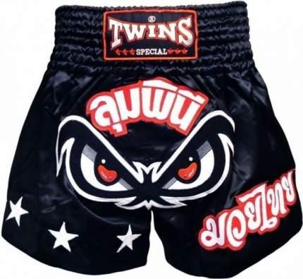 Боксерские трусы Twins Special TBS-02 черные, размер XL