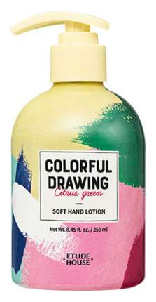 Лосьон для рук Etude House Colorful Drawing Soft Hand Lotion 250 мл