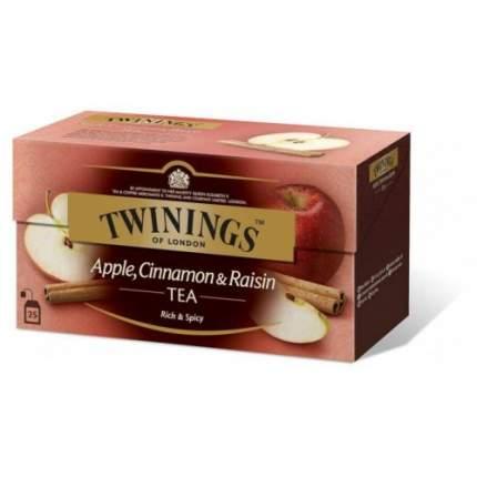 Чай черный Twinings яблоко-корица-изюм 25 пакетиков