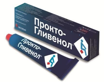 Прокто-Гливенол 30 г крем ректальный