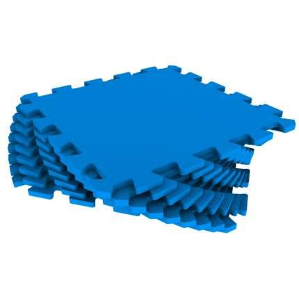 Мягкий пол универсальный ECO COVER 33*33 см синий