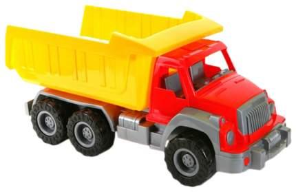 Самосвал игрушечный Нордпласт Аллигатор красно-желтый Р19011