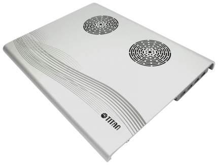 Подставка для ноутбукаTitan TTC-G3TZ/SB серебристый
