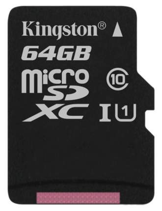 Карта памяти Kingston Micro SDXC 64GB
